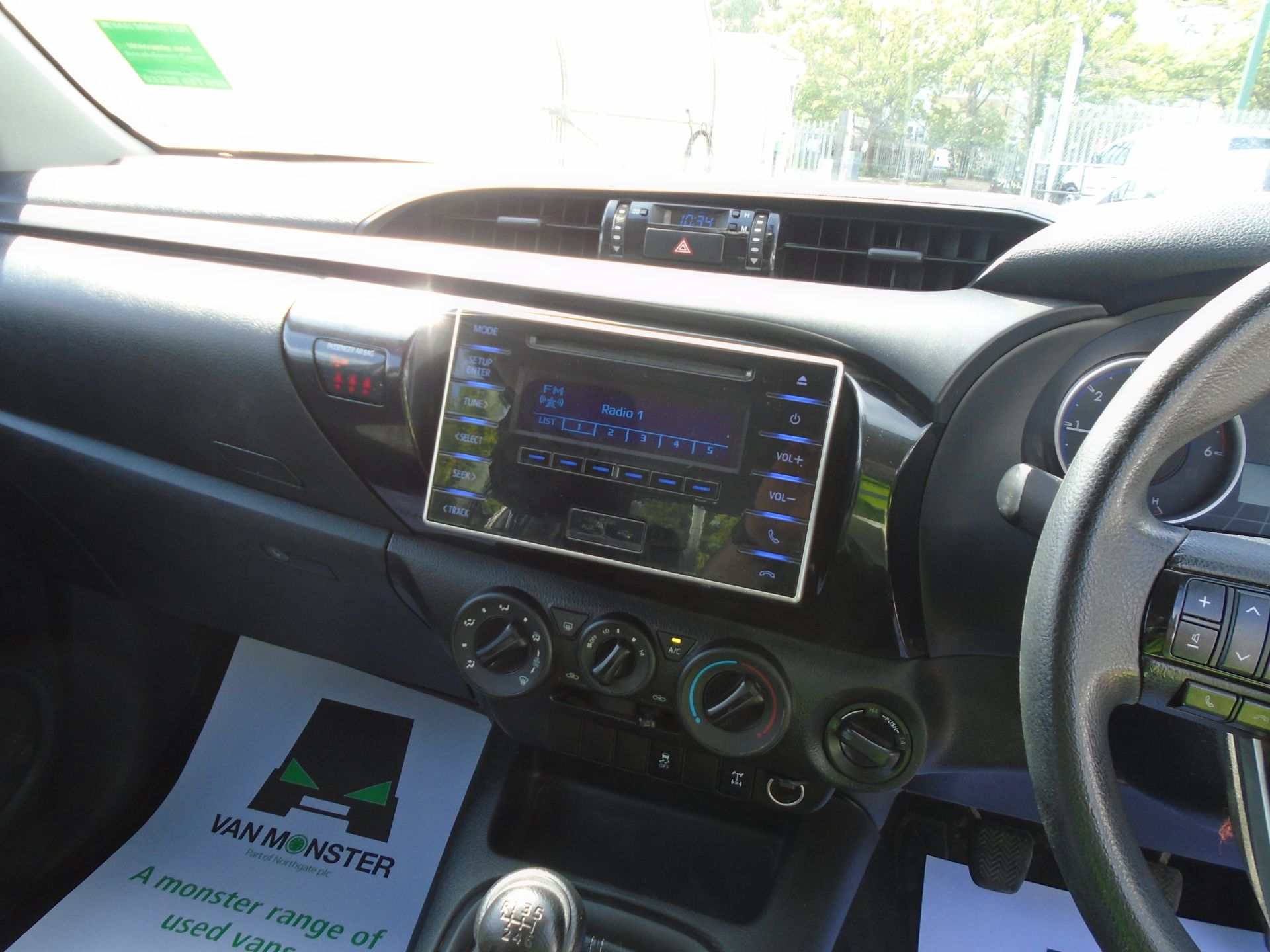 2017 Toyota Hilux Active D/Cab Pick Up 2.5 D-4D 4Wd 144 (NX67PGE) Image 20