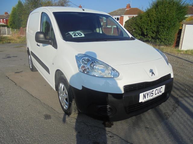 2015 Peugeot Partner 850 S 1.6 Hdi 92 Van [Sld] (NY15CUC)