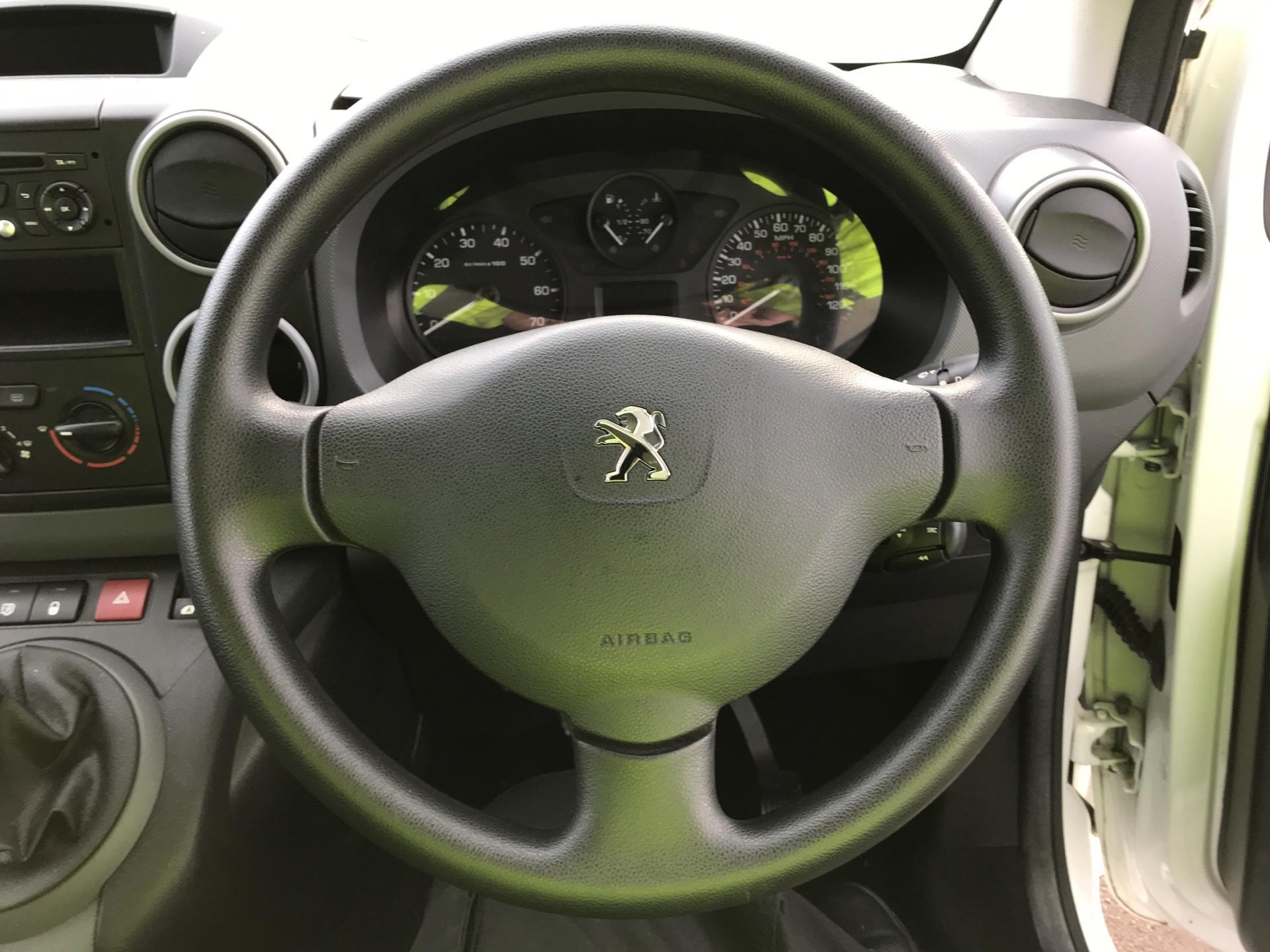 2015 Peugeot Partner L2 716 1.6 92 CREW VAN EURO 5 (NY15FSZ) Image 12