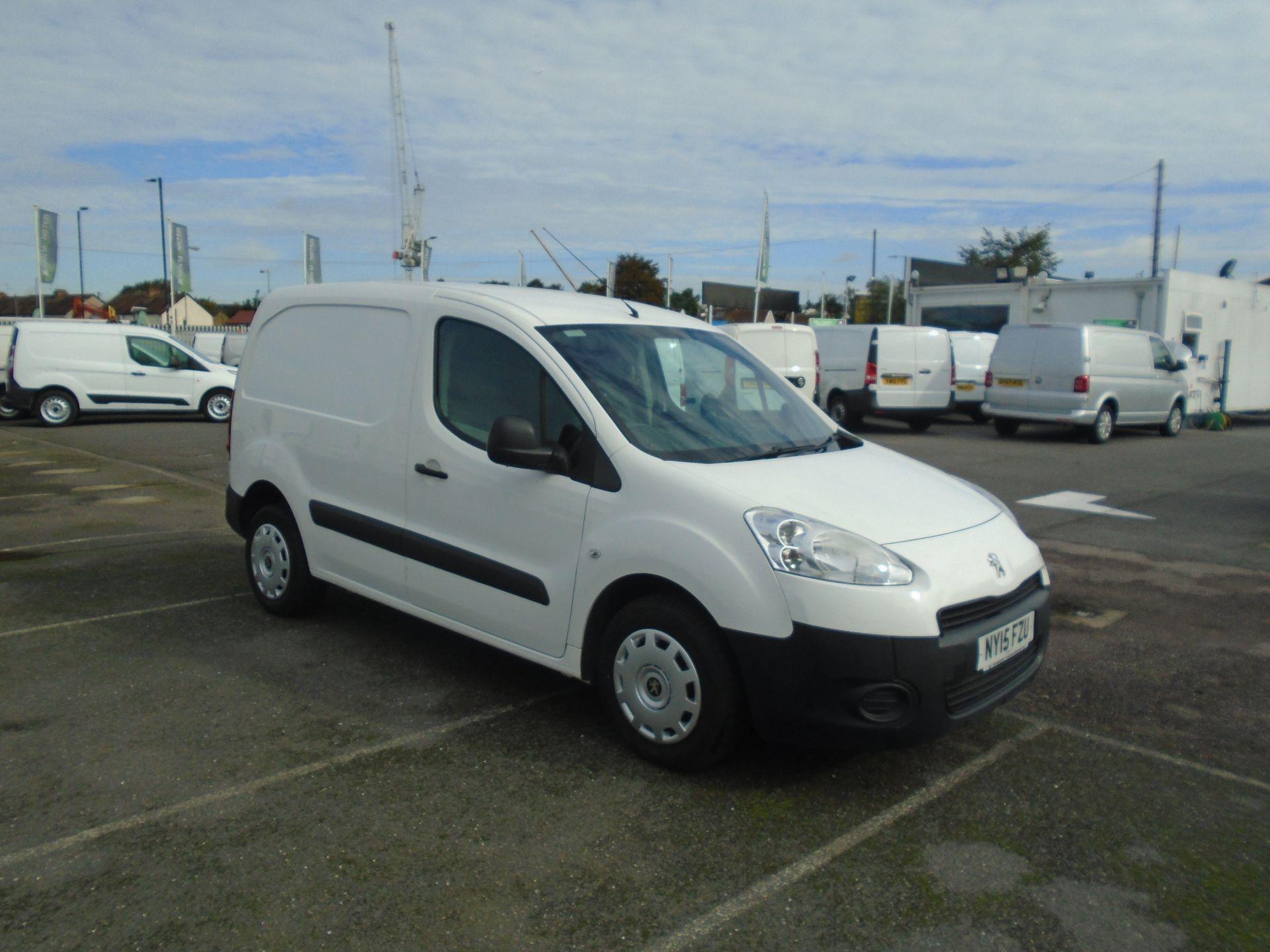 2015 Peugeot Partner 850 S 1.6 Hdi 92 Van [Sld](EURO 5) (NY15FZU)