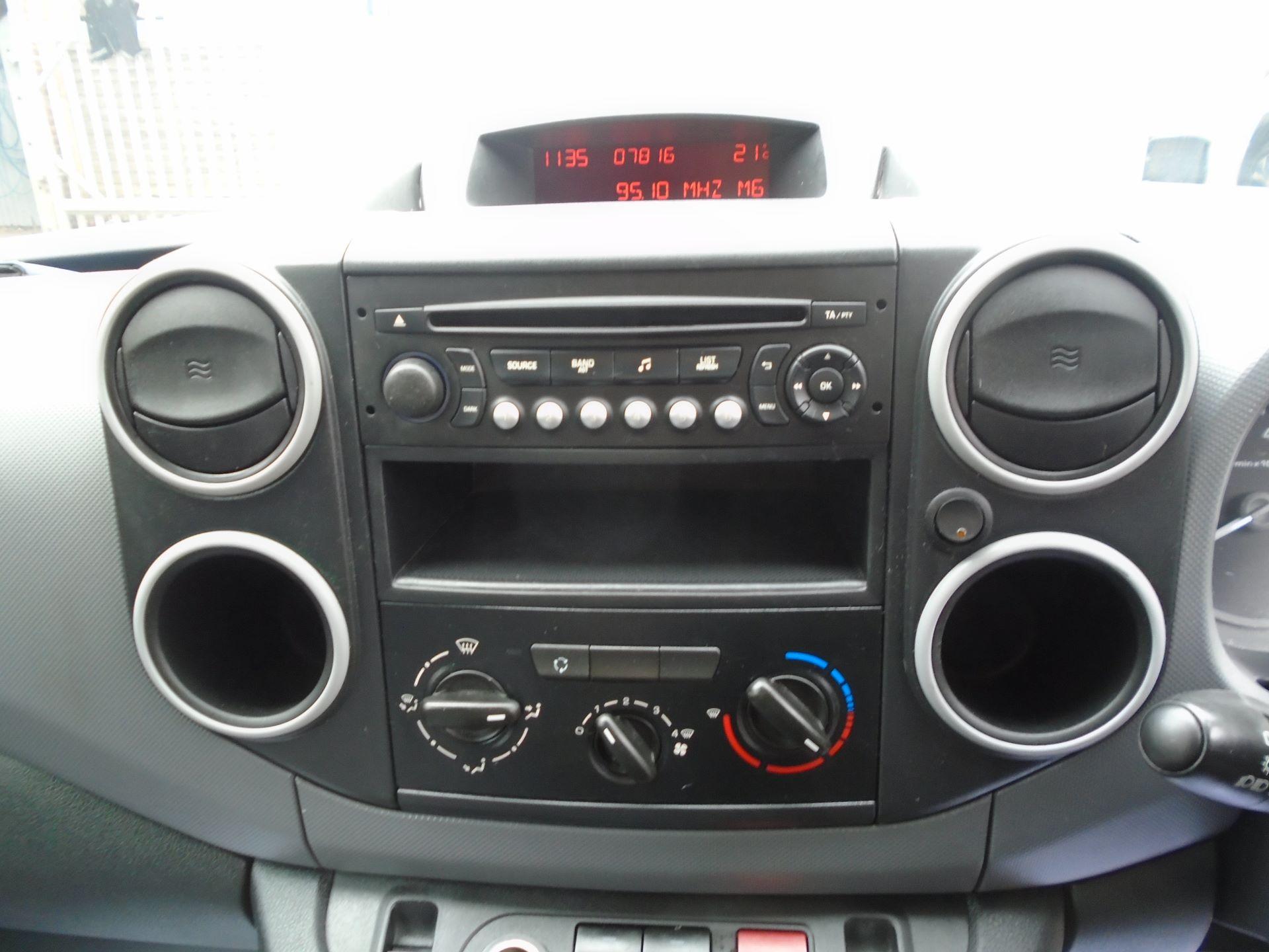 2015 Peugeot Partner 850 S 1.6 Hdi 92 Van EURO5 (60MPH LIMIT) (NY15GBO) Image 20