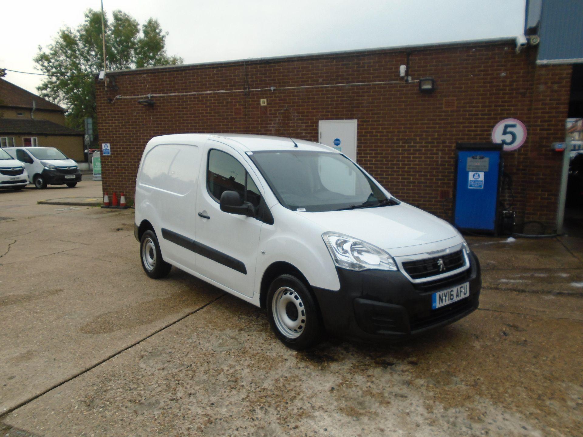 2016 Peugeot Partner 850 S 1.6 Hdi 92 Van [Sld](EURO 5) (NY16AFU)