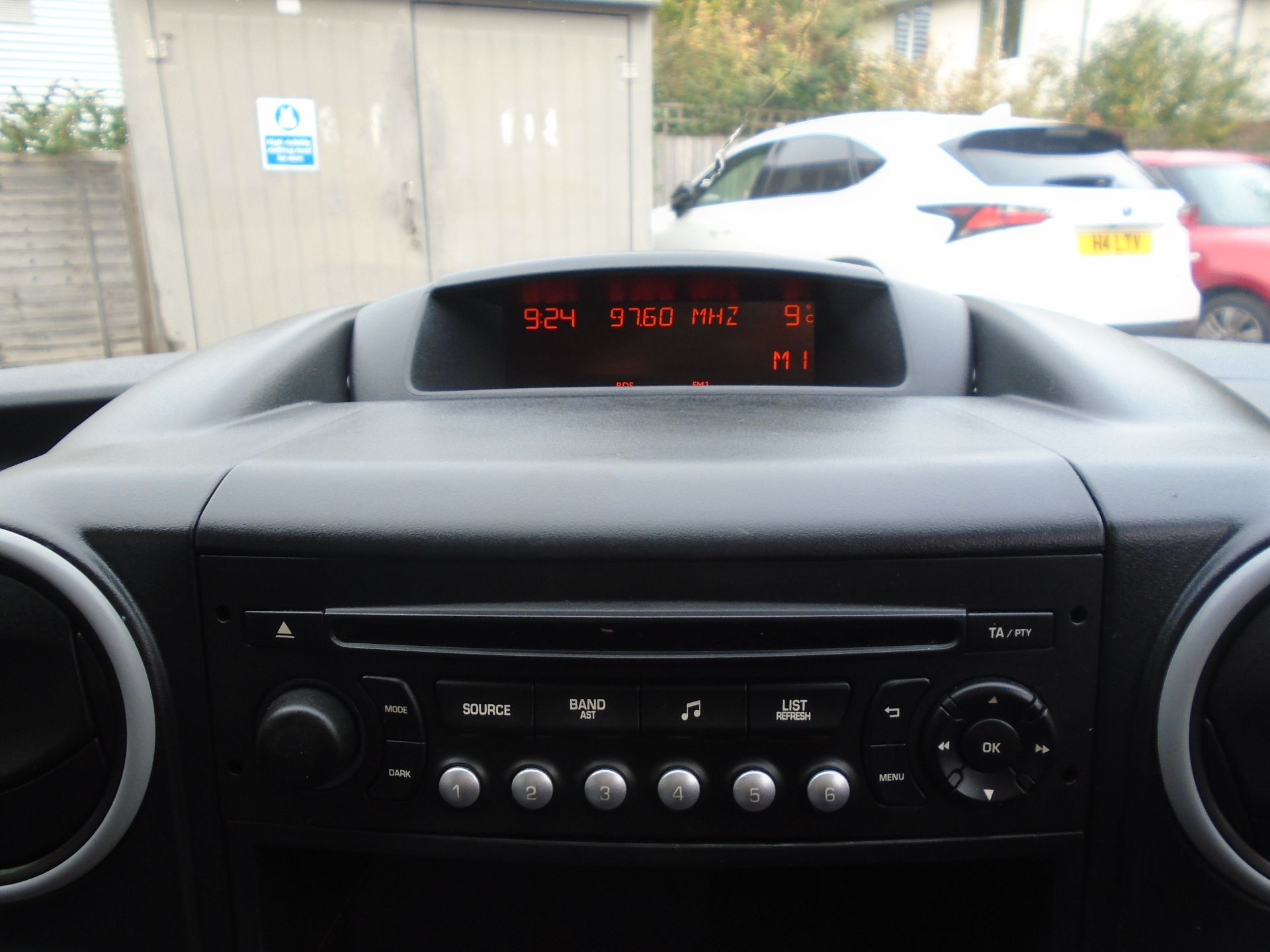 2016 Peugeot Partner 850 S 1.6 Hdi 92 Van [Sld](EURO 5) (NY16AFU) Image 15