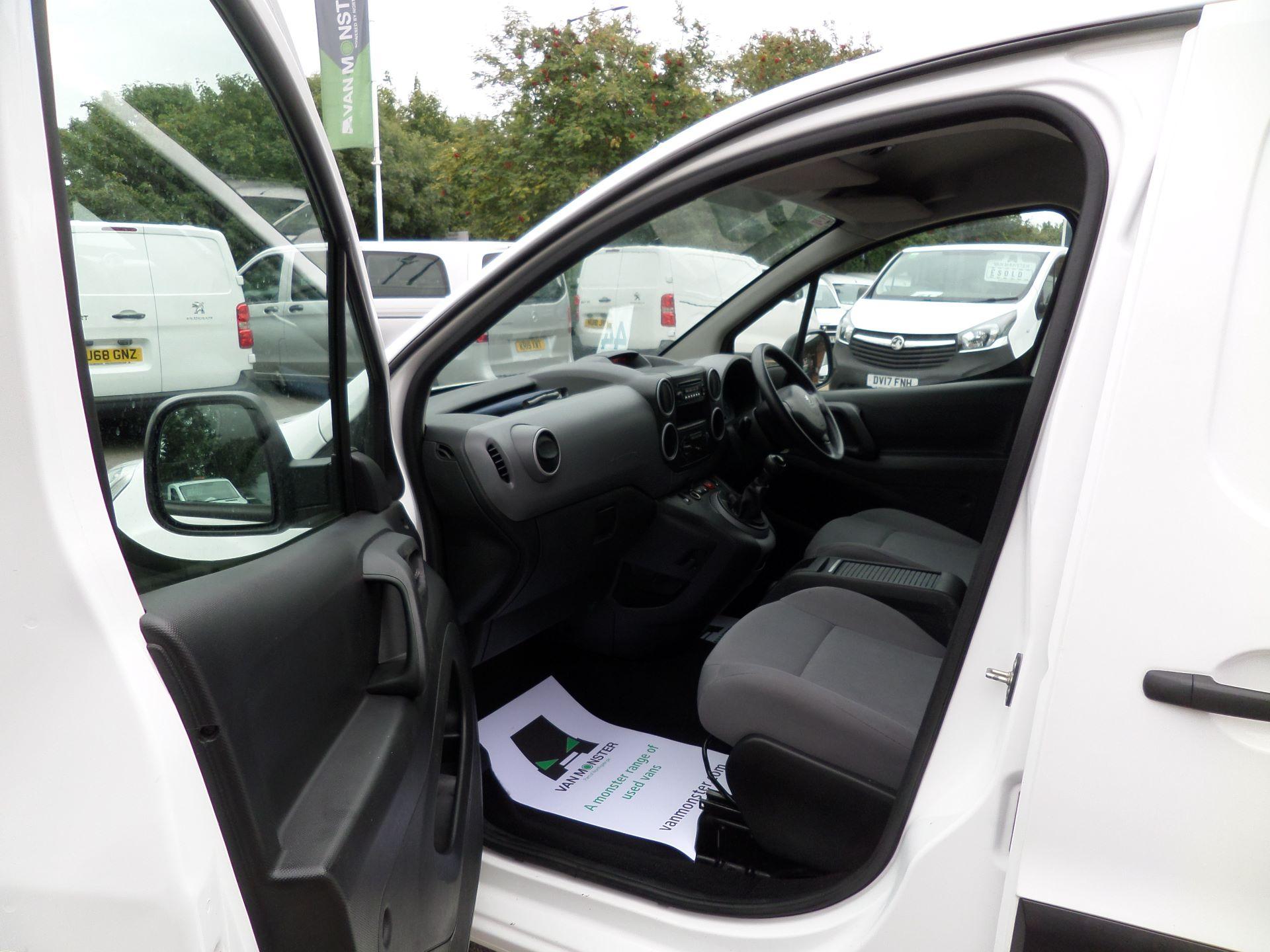 2016 Peugeot Partner 850 S 1.6 Hdi 92 Van [Sld] Euro 5 (NY16AGU) Image 8