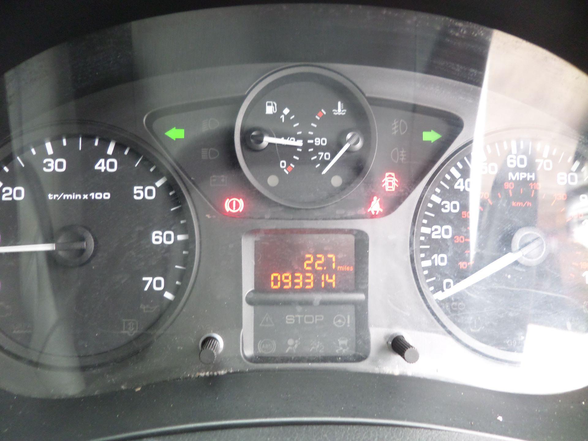 2016 Peugeot Partner 850 S 1.6 Hdi 92 Van [Sld] Euro 5 (NY16AGU) Image 13