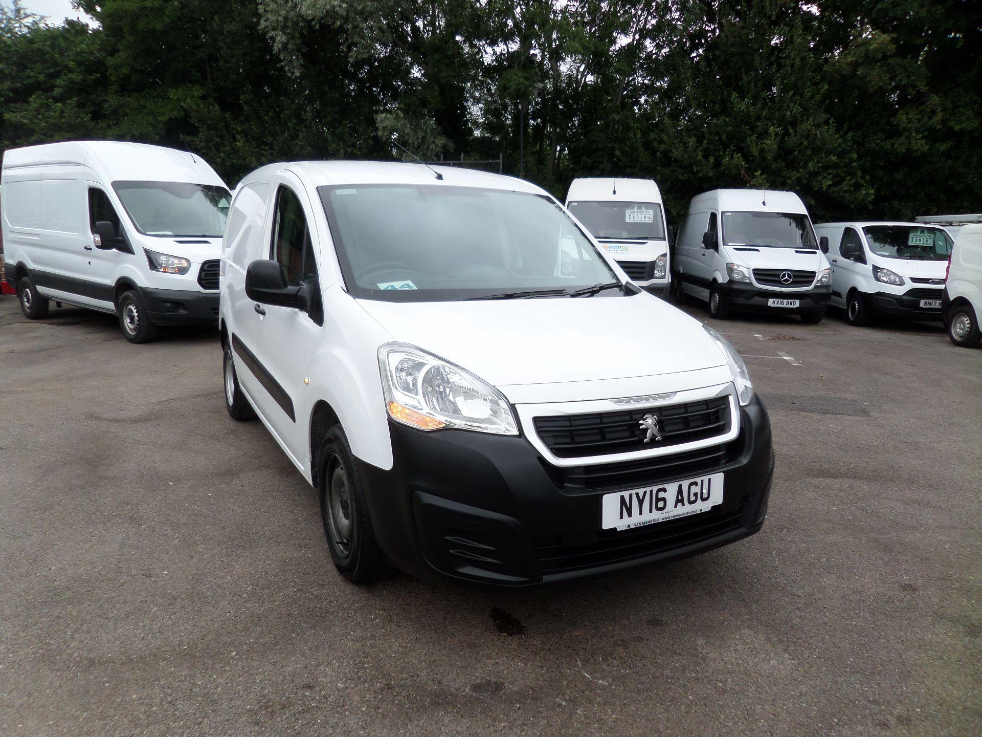 2016 Peugeot Partner 850 S 1.6 Hdi 92 Van [Sld] Euro 5 (NY16AGU)