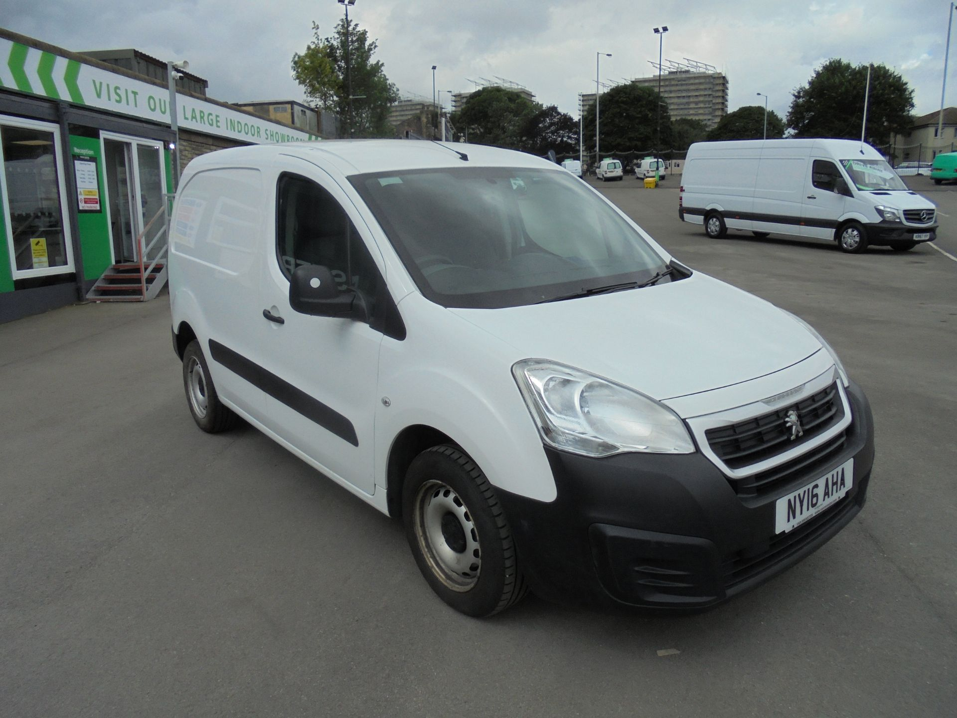 2016 Peugeot Partner 850 S 1.6 Hdi 92 Van [Sld] (NY16AHA)