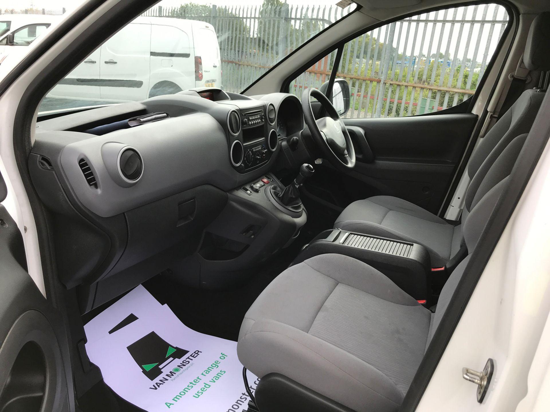 2016 Peugeot Partner L1 850 S 1.6HDI 92PS EURO 5 (NY16AHG) Image 12