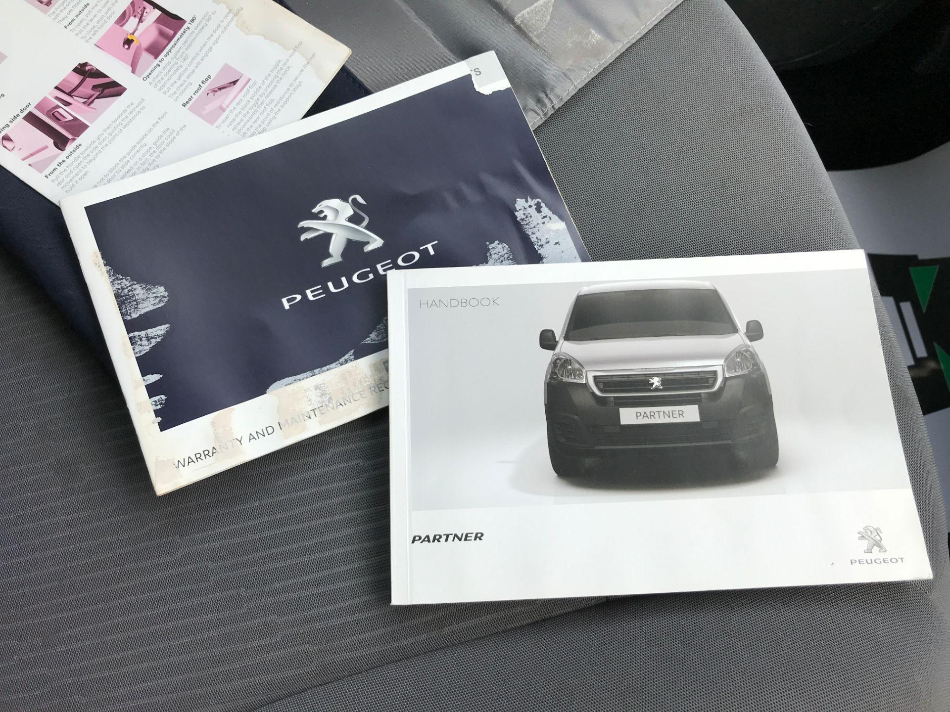 2016 Peugeot Partner L1 850 S 1.6HDI 92PS EURO 5 (NY16AHG) Image 23