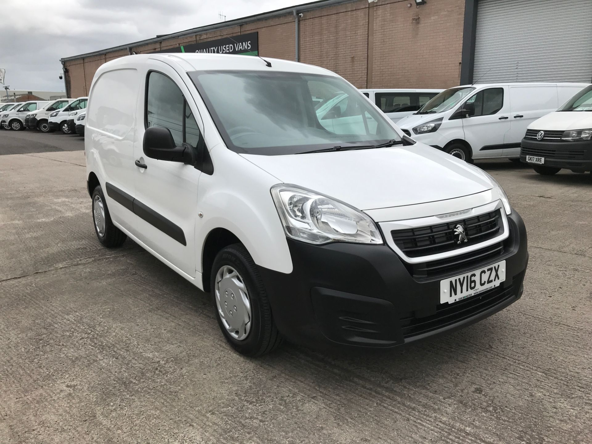 2016 Peugeot Partner L1 850 S 1.6HDI 92PS EURO 5 (NY16CZX)