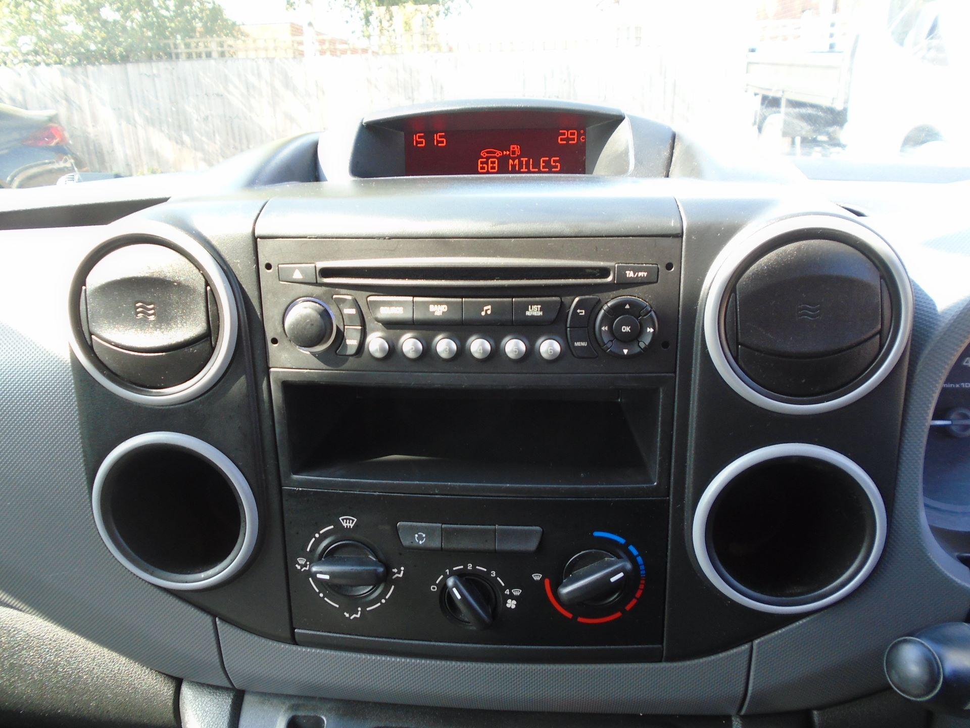 2016 Peugeot Partner 850 S 1.6 Hdi 92 Van Euro 5  (NY16DFU) Image 13