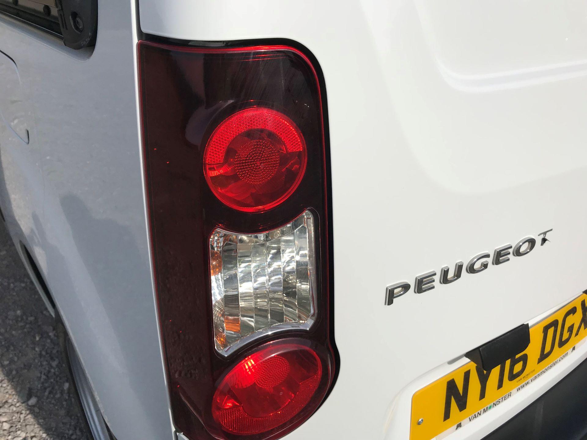 2016 Peugeot Partner L1 850 S 1.6 92PS [SLD] EURO 5 (NY16DGX) Image 28