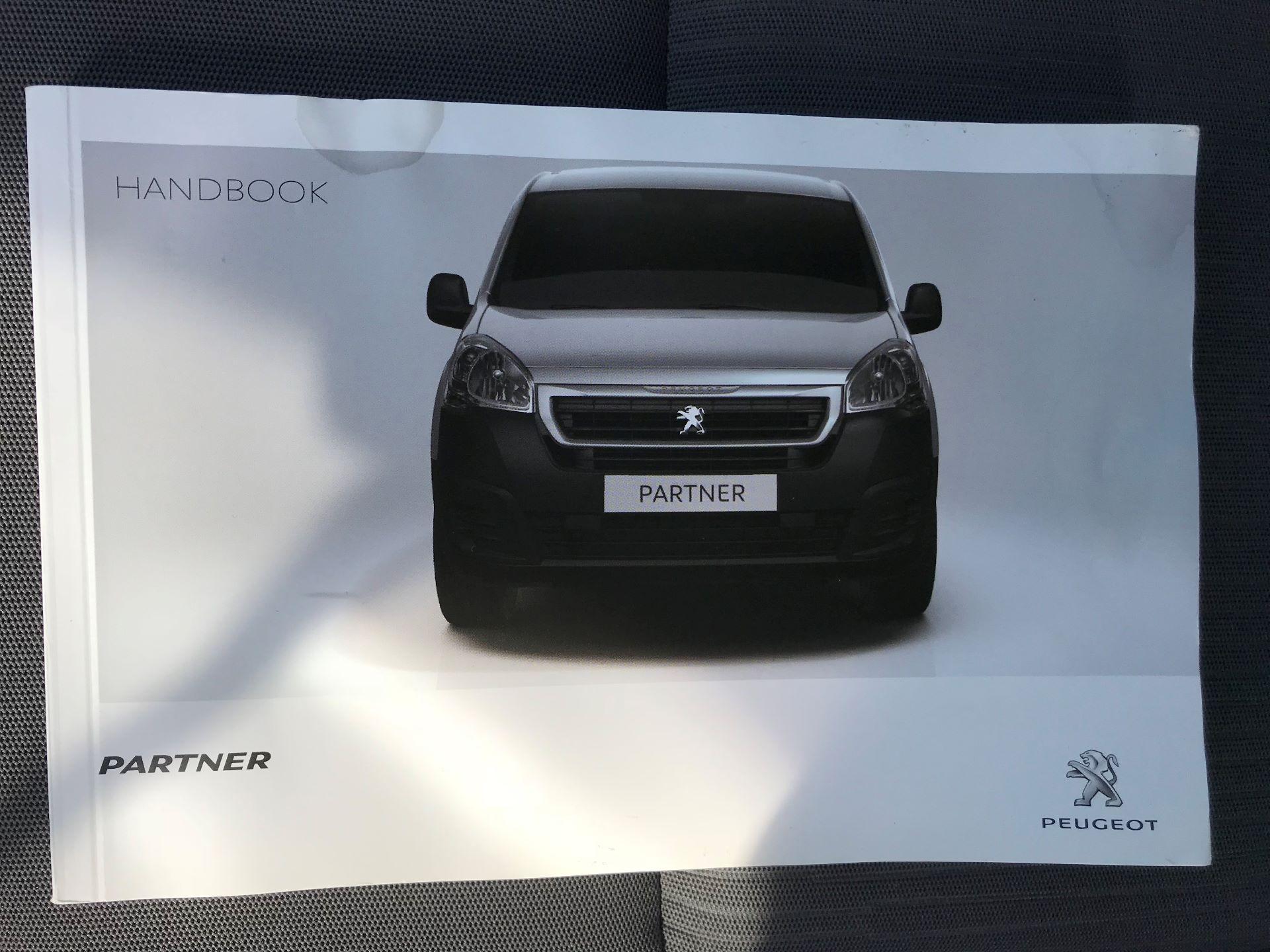 2016 Peugeot Partner L1 850 S 1.6 92PS [SLD] EURO 5 (NY16DGX) Image 32