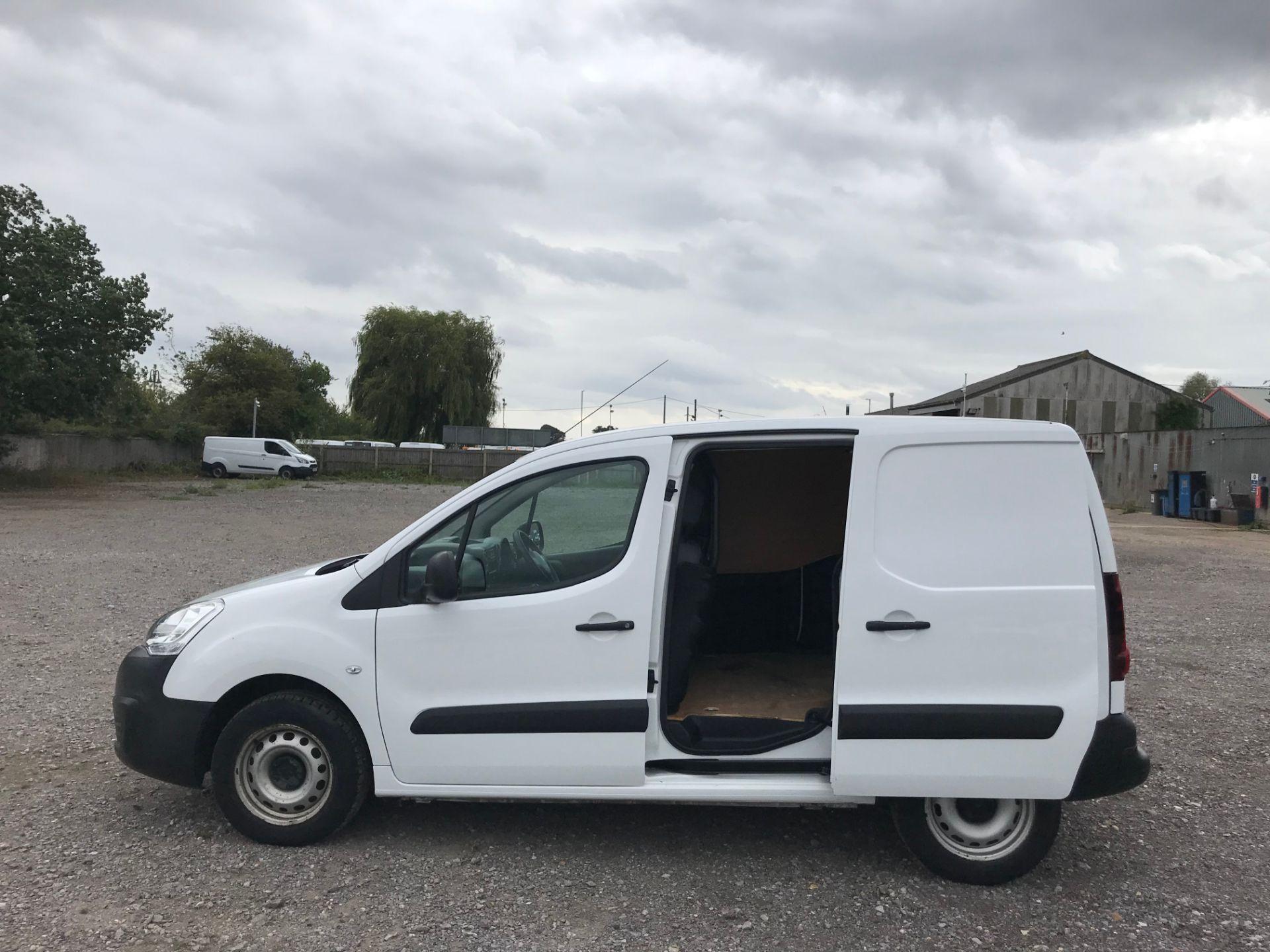 2016 Peugeot Partner 850 S 1.6 Hdi 92 Van [Sld] (NY16DGZ) Image 9