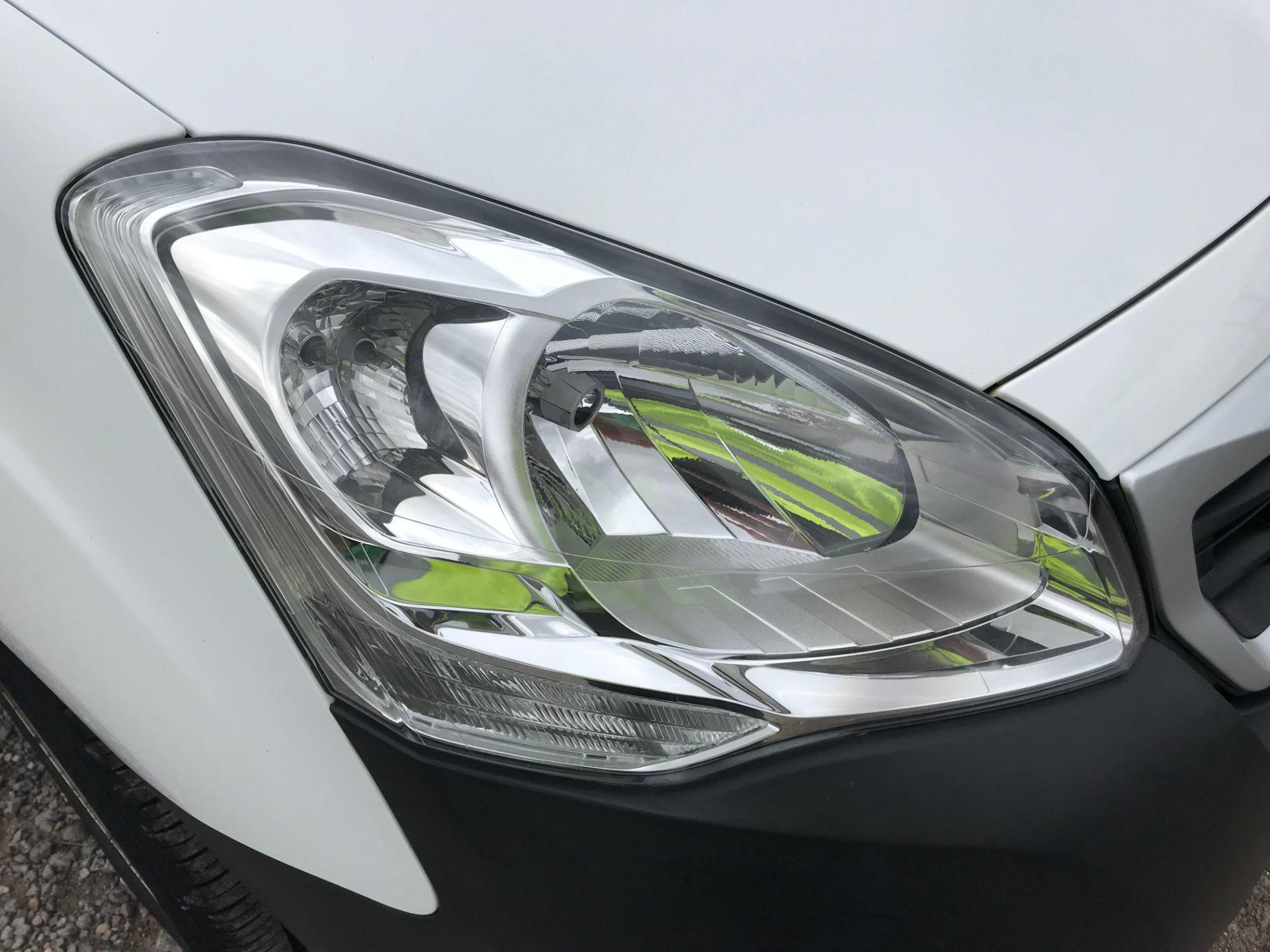 2016 Peugeot Partner 850 S 1.6 Hdi 92 Van [Sld] (NY16DGZ) Image 30