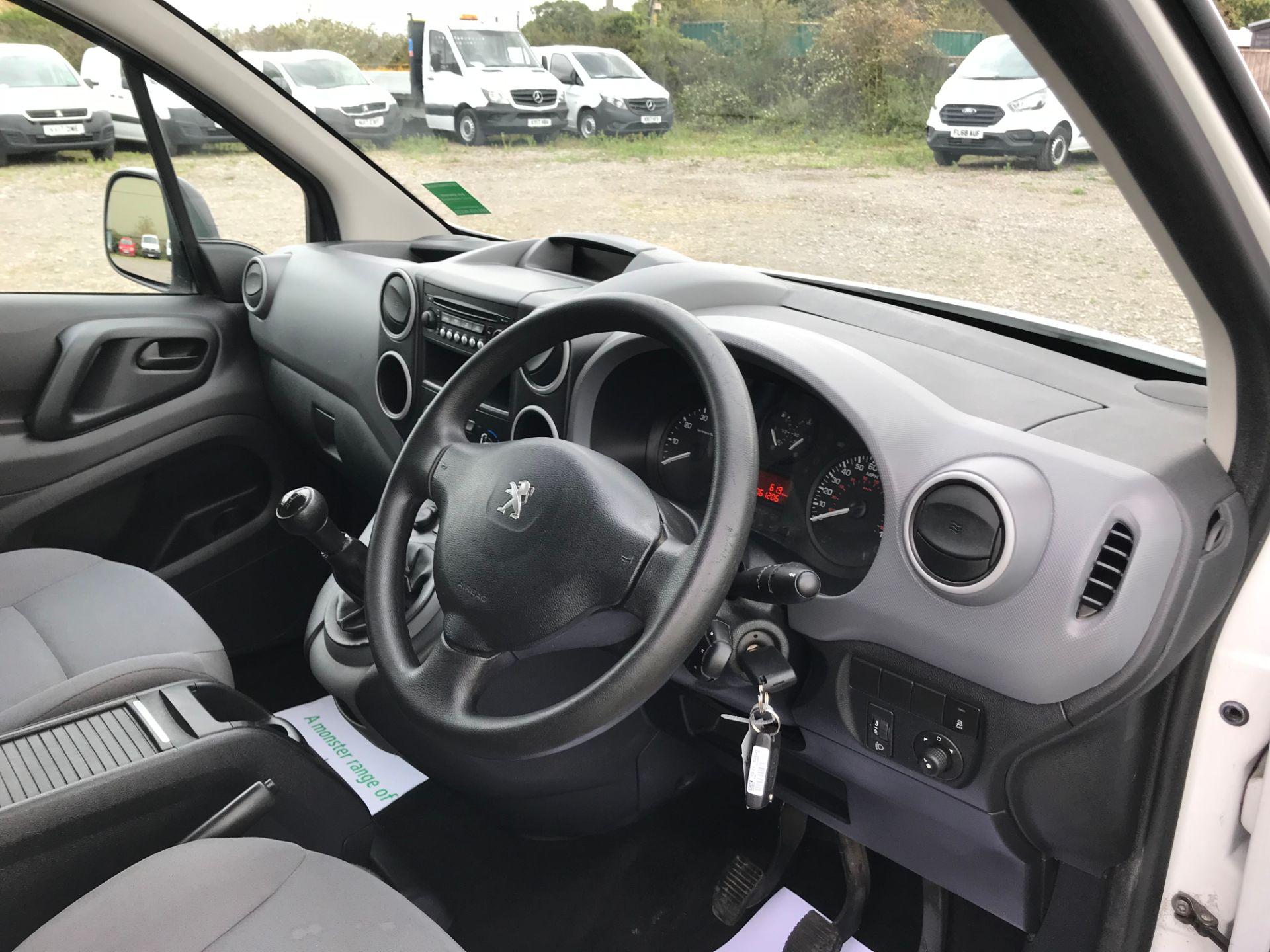 2016 Peugeot Partner 850 S 1.6 Hdi 92 Van [Sld] (NY16DGZ) Image 18