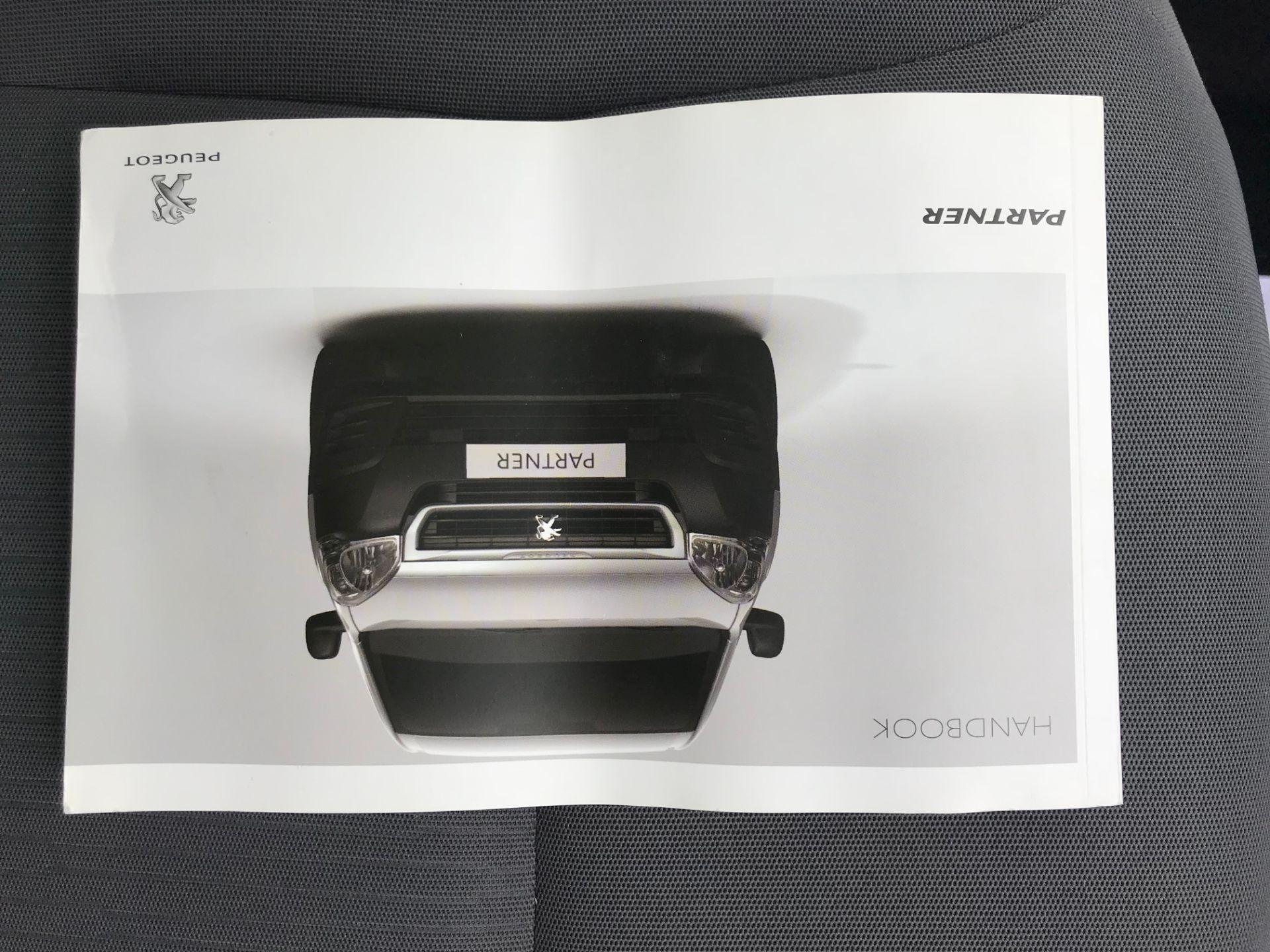 2016 Peugeot Partner 850 S 1.6 Hdi 92 Van [Sld] (NY16DGZ) Image 37