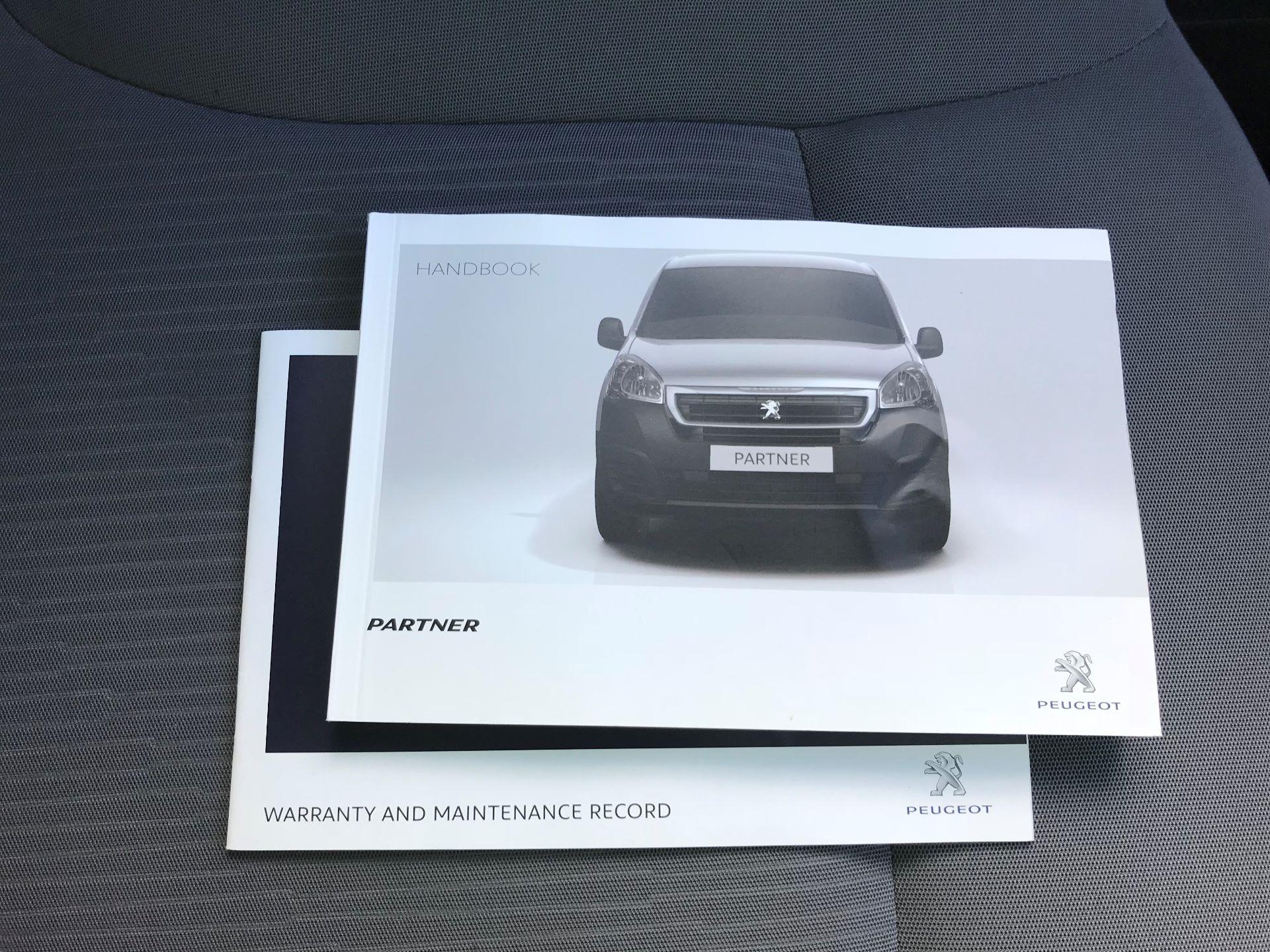 2016 Peugeot Partner L1 850 S 1.6 92PS [SLD] EURO 5 (NY16ECA) Image 23