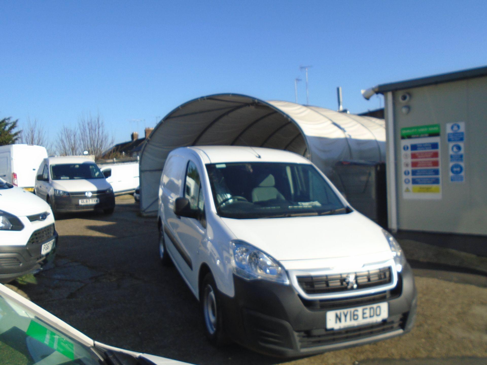 2016 Peugeot Partner 850 S 1.6 Hdi 92 Van [Sld] (NY16EDO)