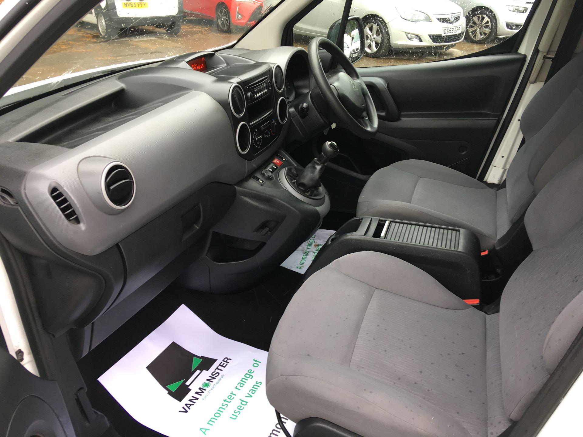 2016 Peugeot Partner L2 715 S 1.6 HDI 92PS CREW VAN EURO 5 (NY16EKW) Image 13