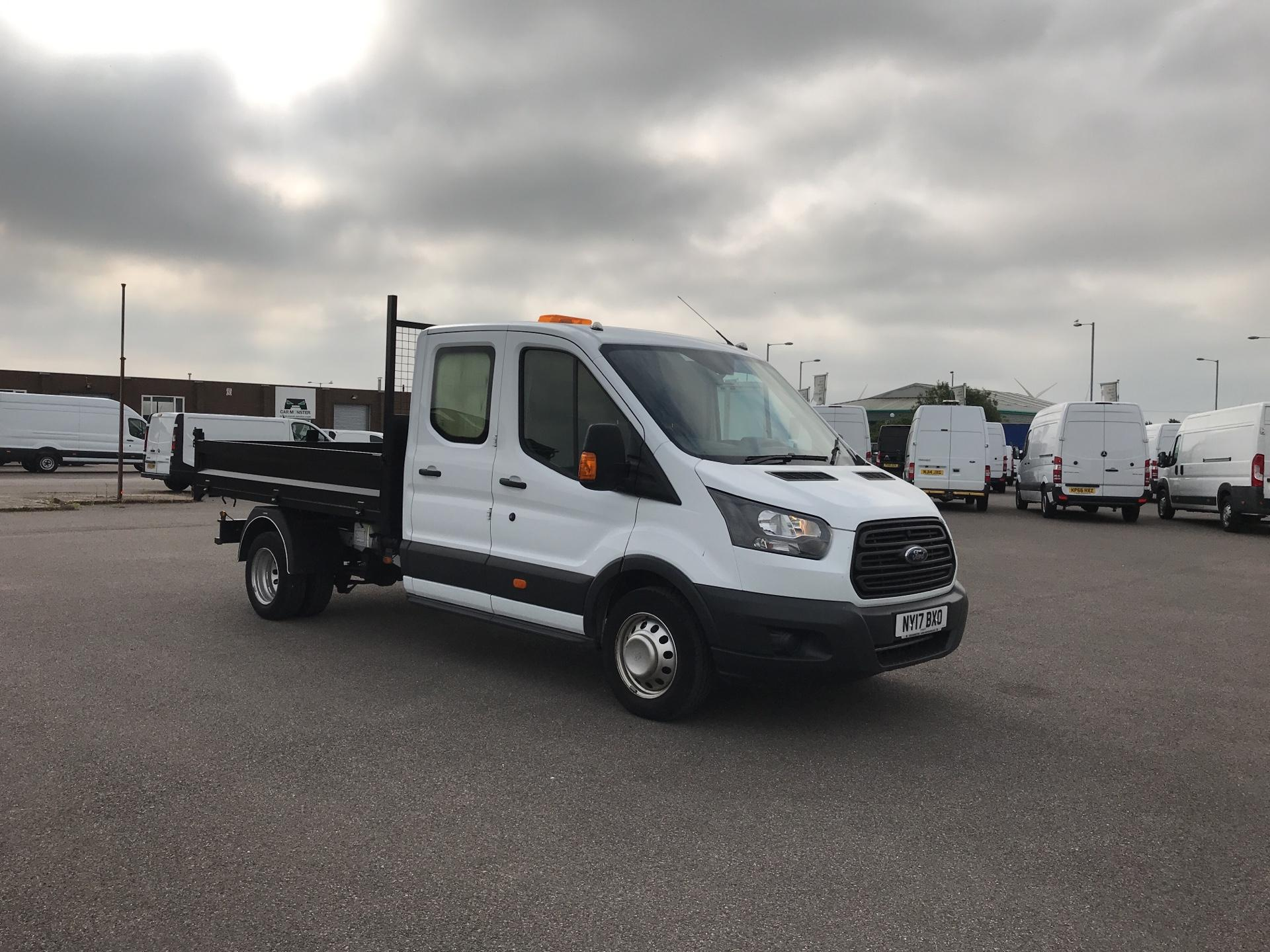 2017 Ford Transit 350 L3 DOUBLE CAB TIPPER 130PS EURO 5 (NY17BXO)