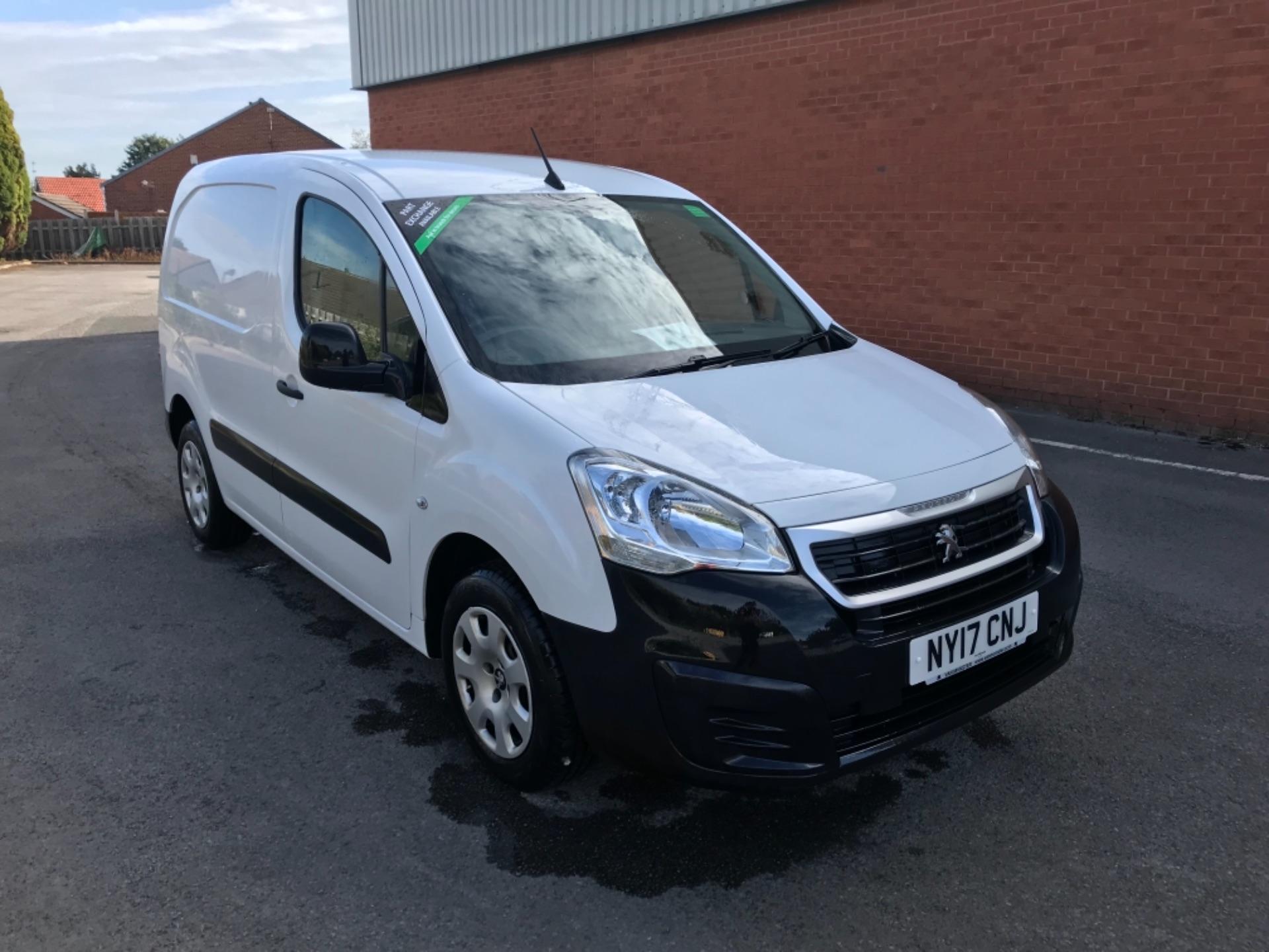 2017 Peugeot Partner 850 1.6 Bluehdi 100 Professional Van [Non Ss] EURO 6 (NY17CNJ)