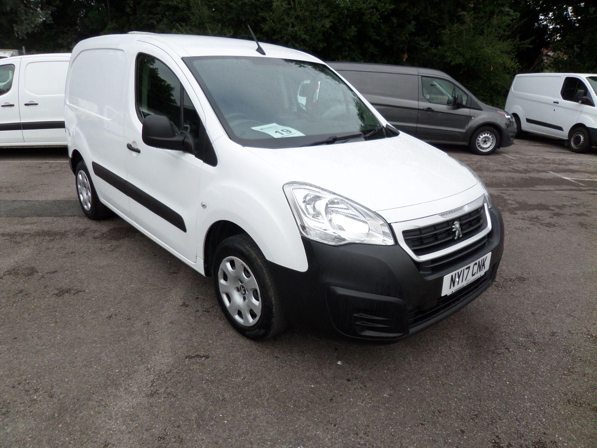 2017 Peugeot Partner 850 1.6 Bluehdi 100 Professional Van [Non Ss] Euro 6 (NY17CNK)