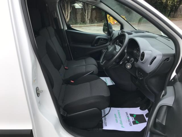 2018 Peugeot Partner 850 1.6 Bluehdi 100 Professional Van [Non Ss] Euro 6 (NY18BJK) Image 12