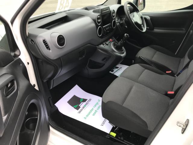 2018 Peugeot Partner 850 1.6 Bluehdi 100 Professional Van [Non Ss] Euro 6 (NY18BJK) Image 25