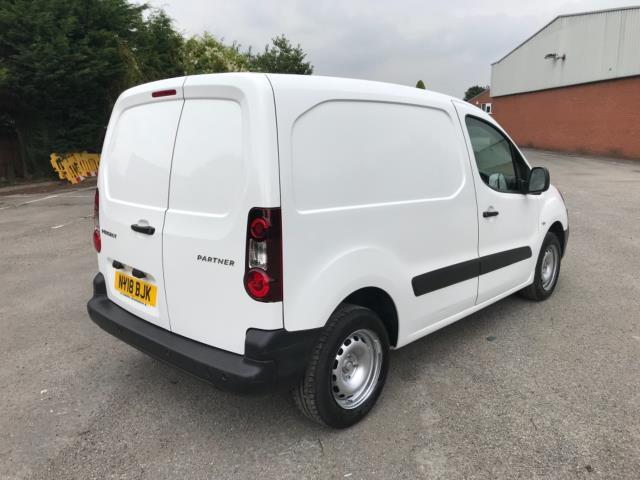 2018 Peugeot Partner 850 1.6 Bluehdi 100 Professional Van [Non Ss] Euro 6 (NY18BJK) Image 7