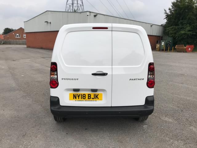 2018 Peugeot Partner 850 1.6 Bluehdi 100 Professional Van [Non Ss] Euro 6 (NY18BJK) Image 6