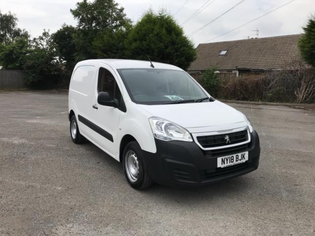 2018 Peugeot Partner 850 1.6 Bluehdi 100 Professional Van [Non Ss] Euro 6 (NY18BJK)