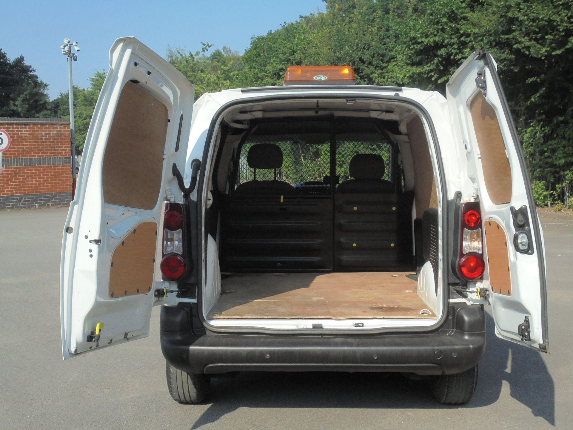 2015 Peugeot Partner 850 S 1.6 Hdi 92 Van [Sld] (NY64AOL) Image 9