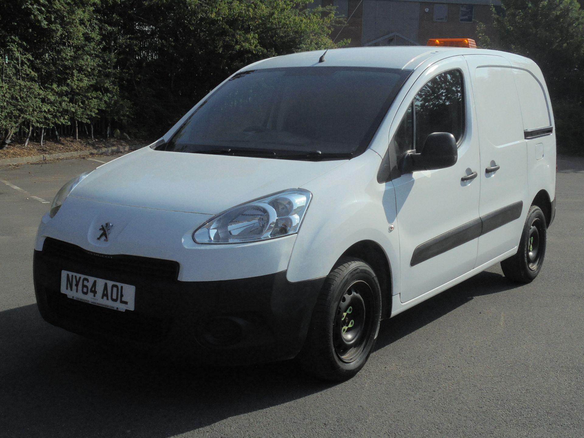 2015 Peugeot Partner 850 S 1.6 Hdi 92 Van [Sld] (NY64AOL) Image 3