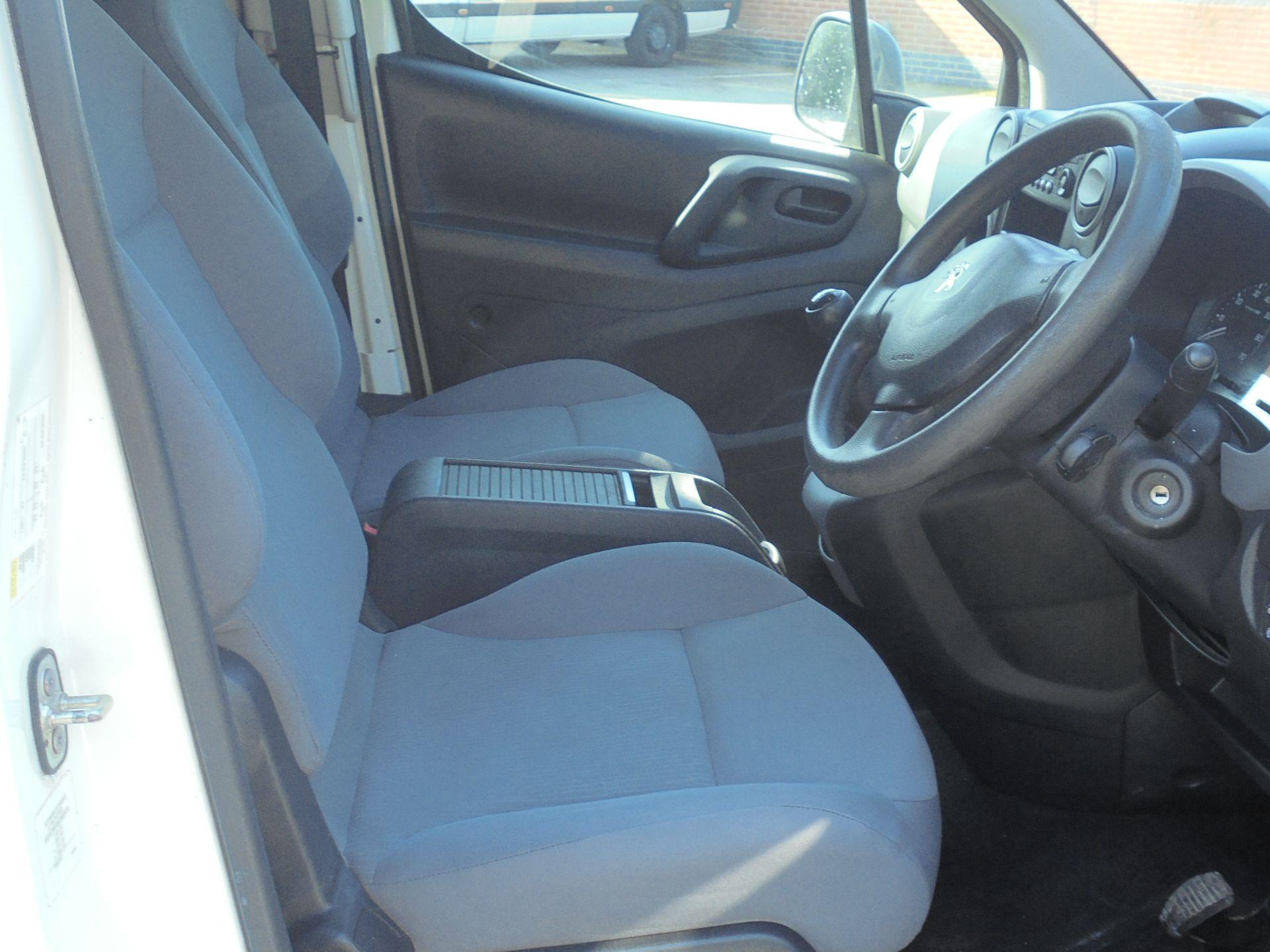 2015 Peugeot Partner 850 S 1.6 Hdi 92 Van [Sld] (NY64AOL) Image 12