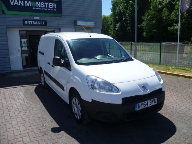 2015 Peugeot Partner  L2 716 1.6 92 CREW VAN EURO 5 (NY64BYU)