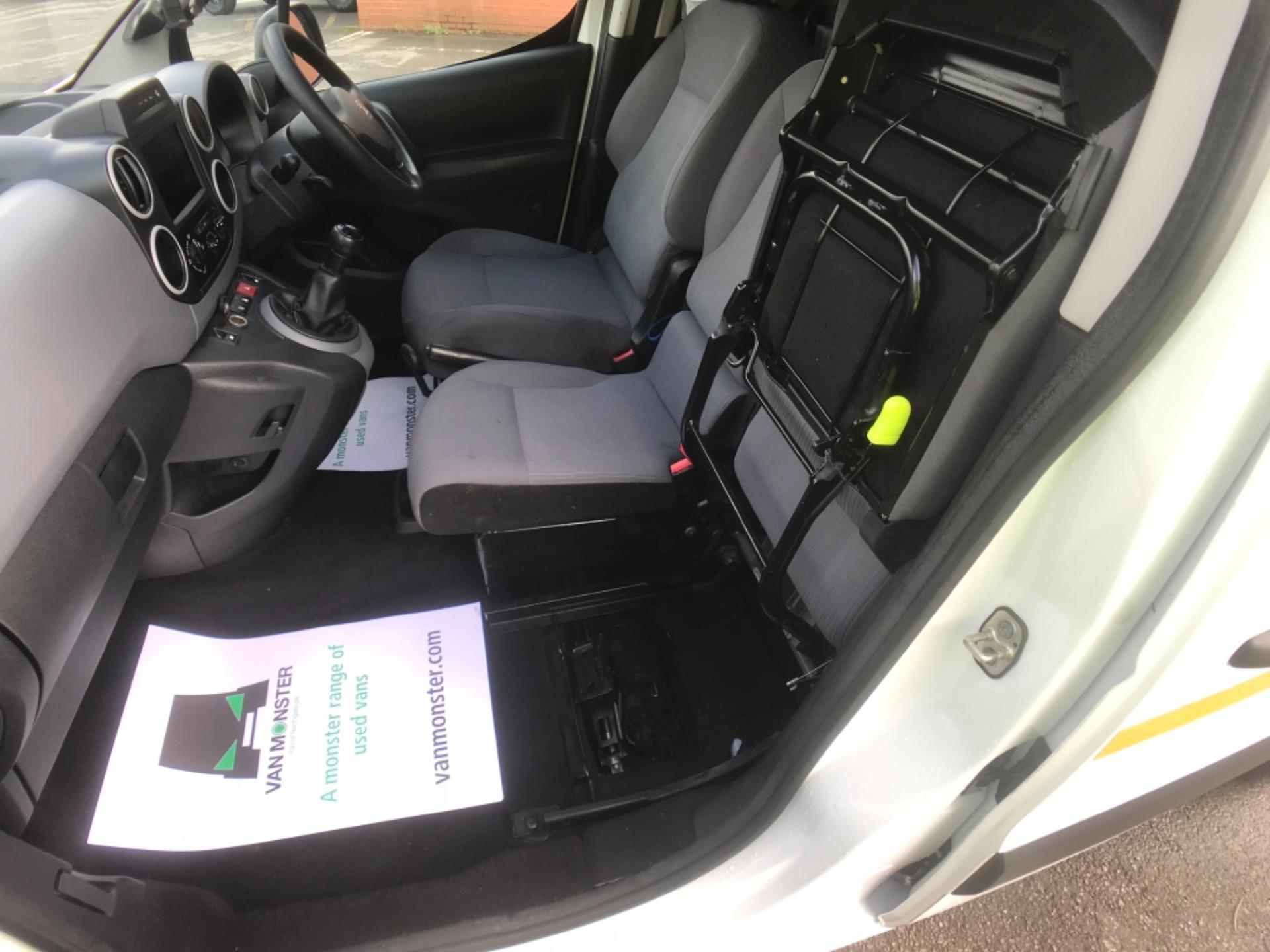 2016 Peugeot Partner 850 1.6 Hdi 92 Professional Van EURO 5 (OV16OYG) Image 9