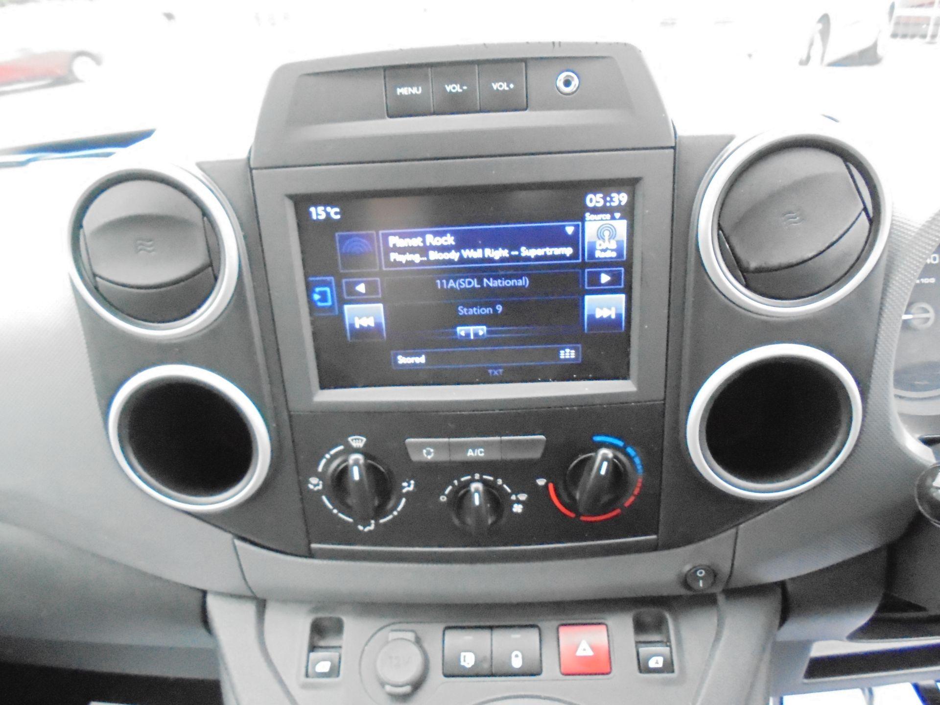 2016 Peugeot Partner L1 850  1.6 92PS PROFESSIONAL EURO 5 (OV16OYP) Image 14