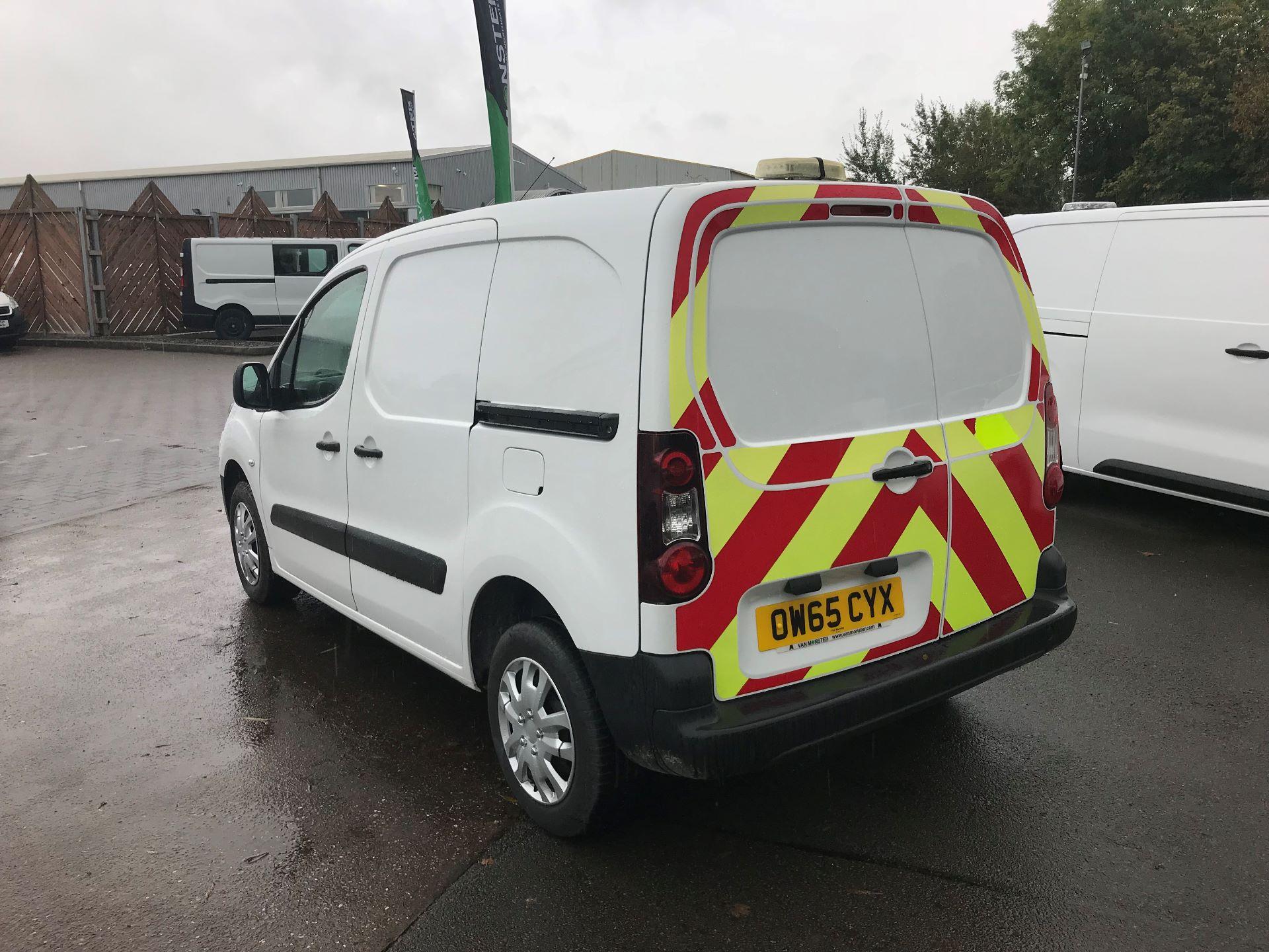 2016 Peugeot Partner 850 1.6 Hdi 92 Professional Van (OW65CYX) Image 5
