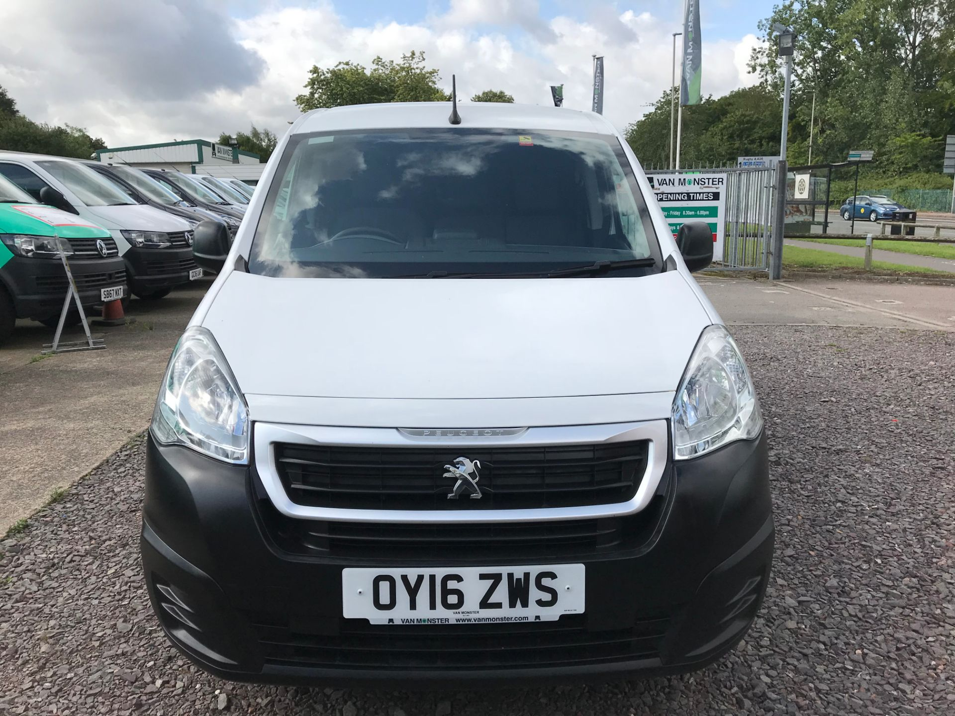 2016 Peugeot Partner L1 850 S 1.6 92PS (SLD) PROFESSIONAL 3 SEATS EURO 5  (OY16ZWS) Image 10