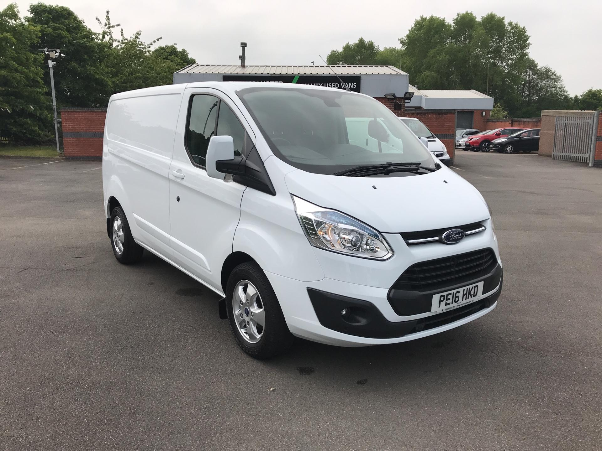 2016 Ford Transit Custom 2.2 Tdci 125Ps Low Roof Limited Van (PE16HKD)