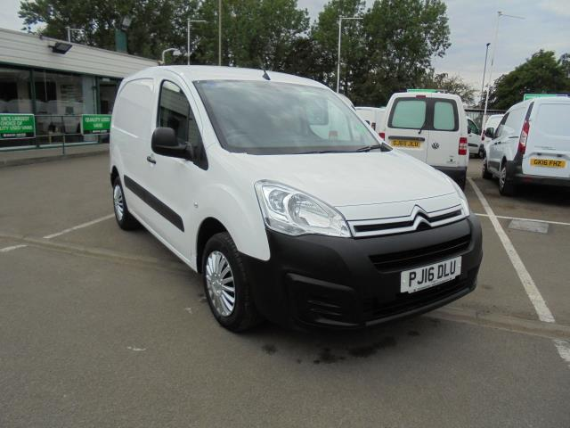 2016 Citroen Berlingo L1 DIESEL 1.6 HDI 625KG ENTERPRISE 75PS EURO 4/5 (SAT NAV/AIR CON/CRUISE CONTROL/TOUCH SCREEN RADIO) (PJ16DLU)
