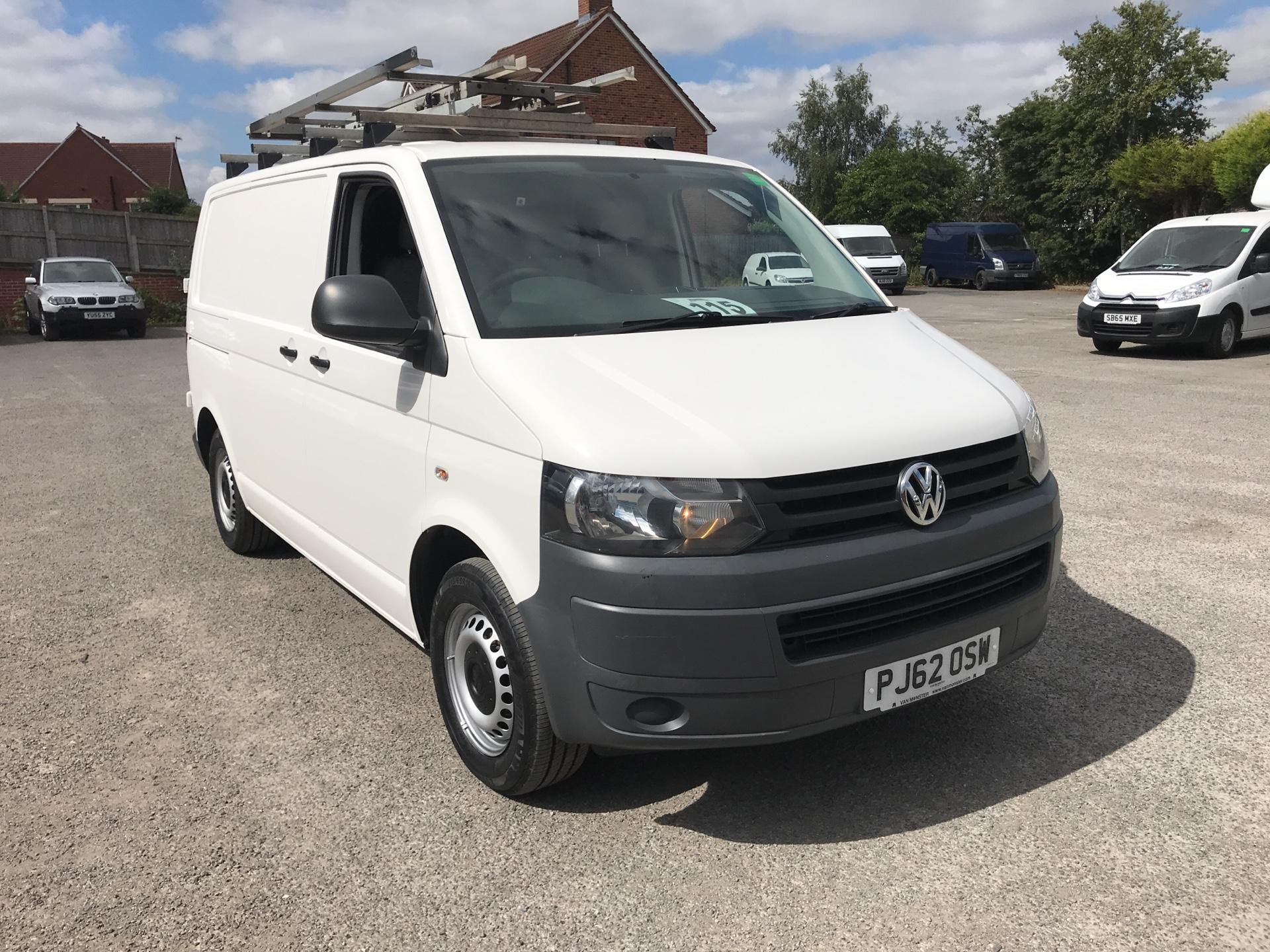 2013 Volkswagen Transporter 2.0 84ps SWB side doors EURO 4/5 AIR CON & SAT NAV (PJ62OSW)