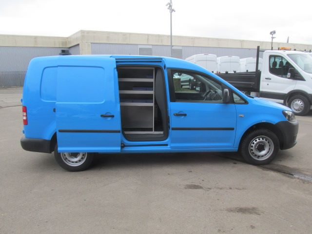 2014 Volkswagen Caddy Maxi 1.6 TDI 102Ps STARTLINE VAN EURO 5 (PJ64HWW) Image 10