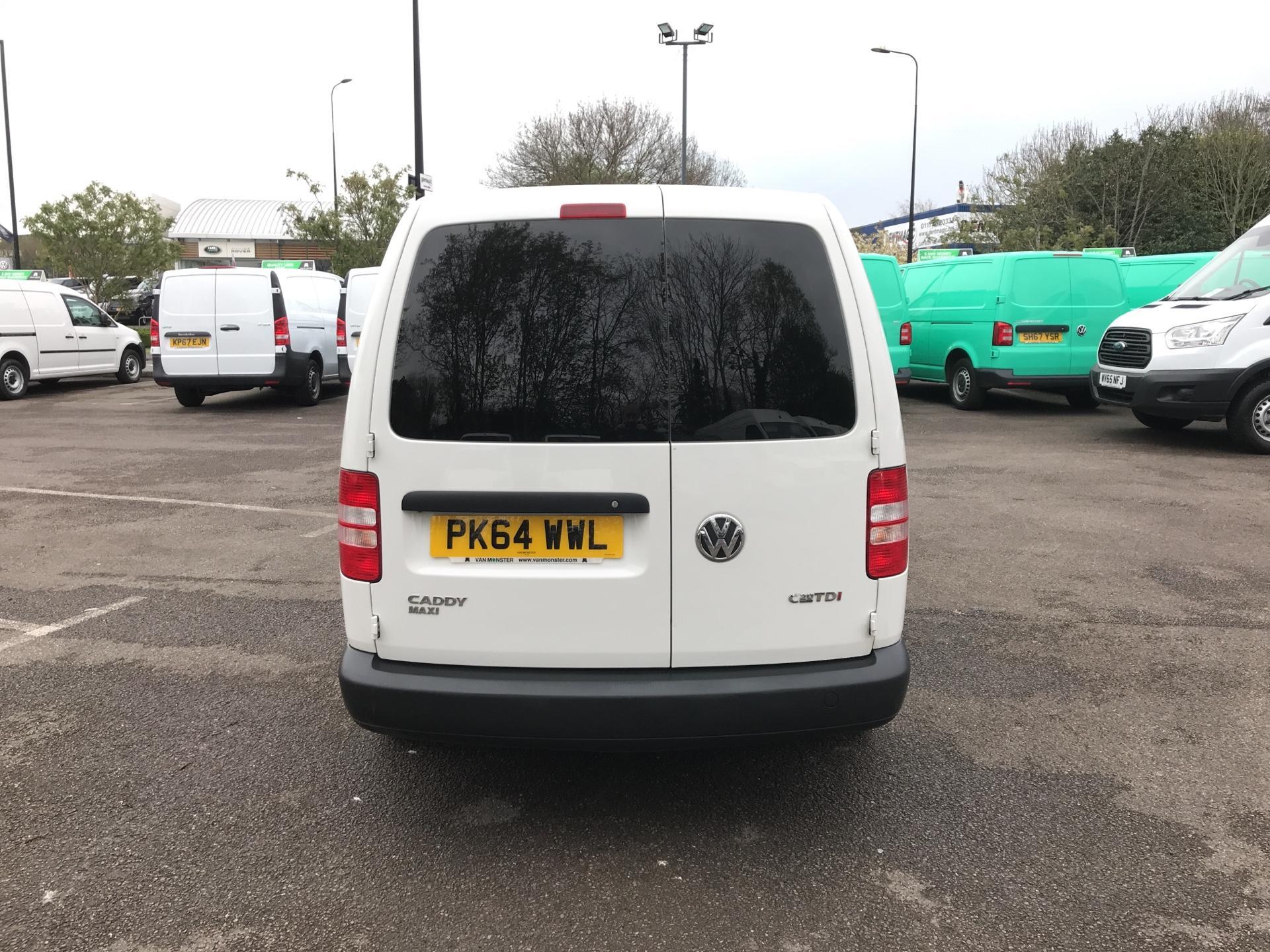 2014 Volkswagen Caddy Maxi 1.6 102PS STARTLINE EURO 5 (PK64WWL) Image 4