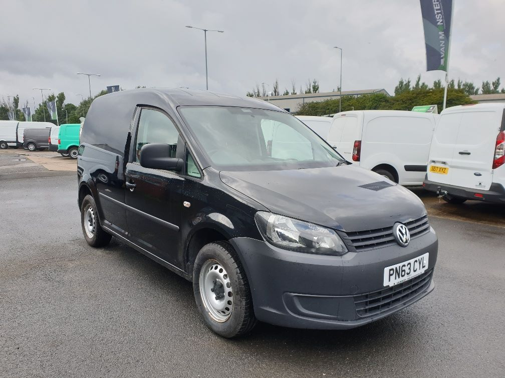 2013 Volkswagen Caddy 1.6 75PS STARTLINE EURO 5 (PN63CYL) Thumbnail 1