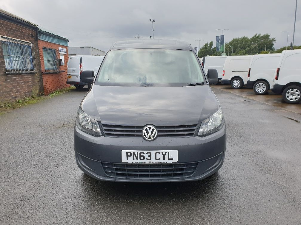 2013 Volkswagen Caddy 1.6 75PS STARTLINE EURO 5 (PN63CYL) Thumbnail 2