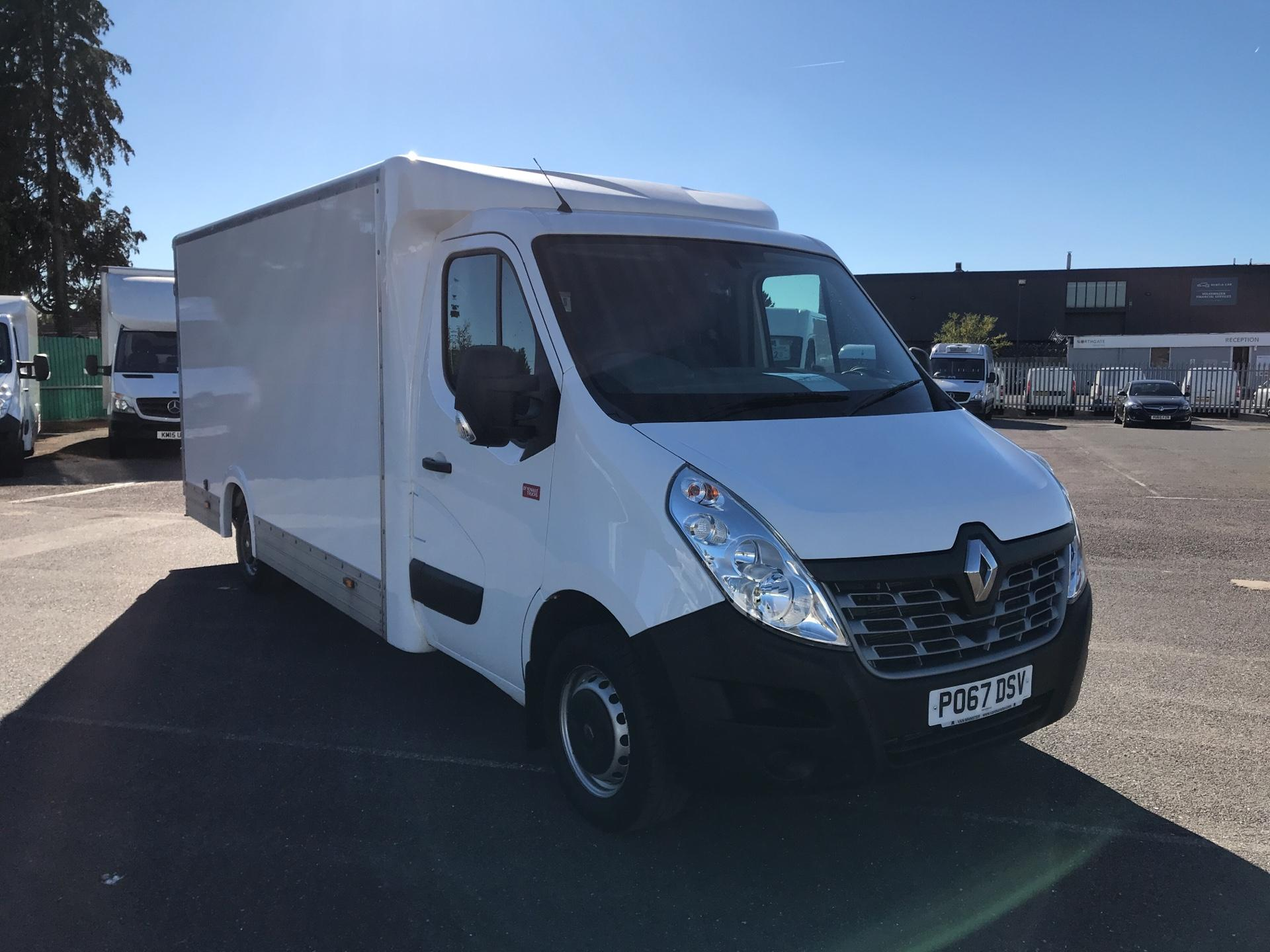 2017 Renault Master  L1 130PS Business L/R Box Van (PO67DSV)