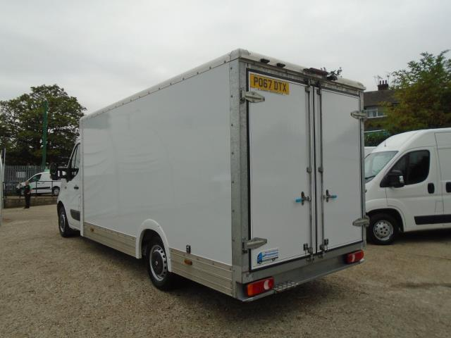 2017 Renault Master L3 35 2.3DCI Low Loader Luton Van Twin Rear Doors Euro 6 (PO67DTX) Thumbnail 4