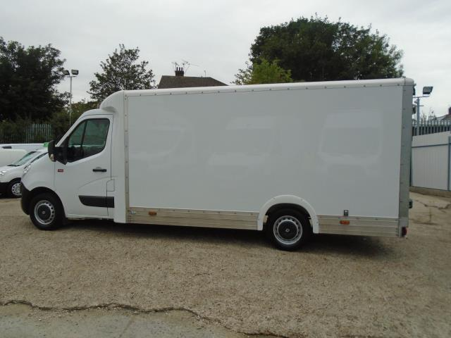 2017 Renault Master L3 35 2.3DCI Low Loader Luton Van Twin Rear Doors Euro 6 (PO67DTX) Thumbnail 8
